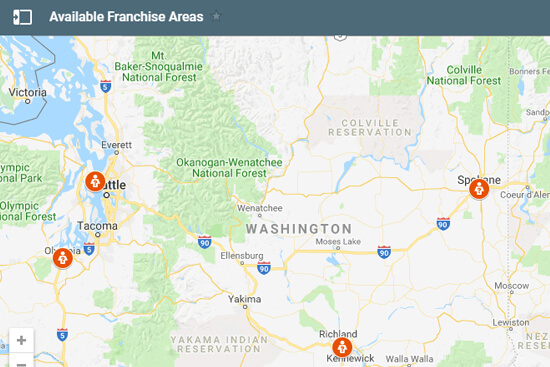 WashingtonFranchiseLocations