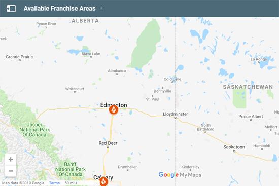 CalgaryFranchiseAvailability
